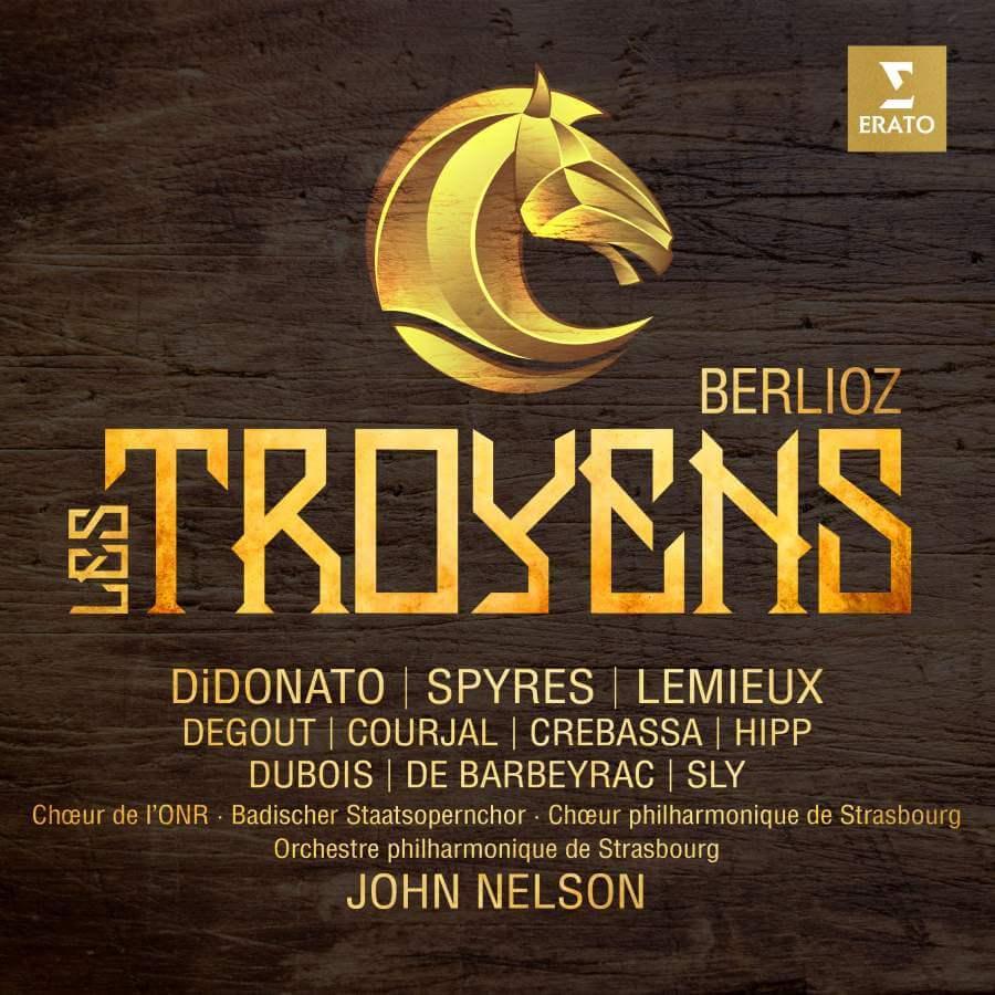 Les Troyens, avec Joyce DiDonato, Michael Spyres, Marie-Nicole Lemieux, sous la direction de John Nelson.