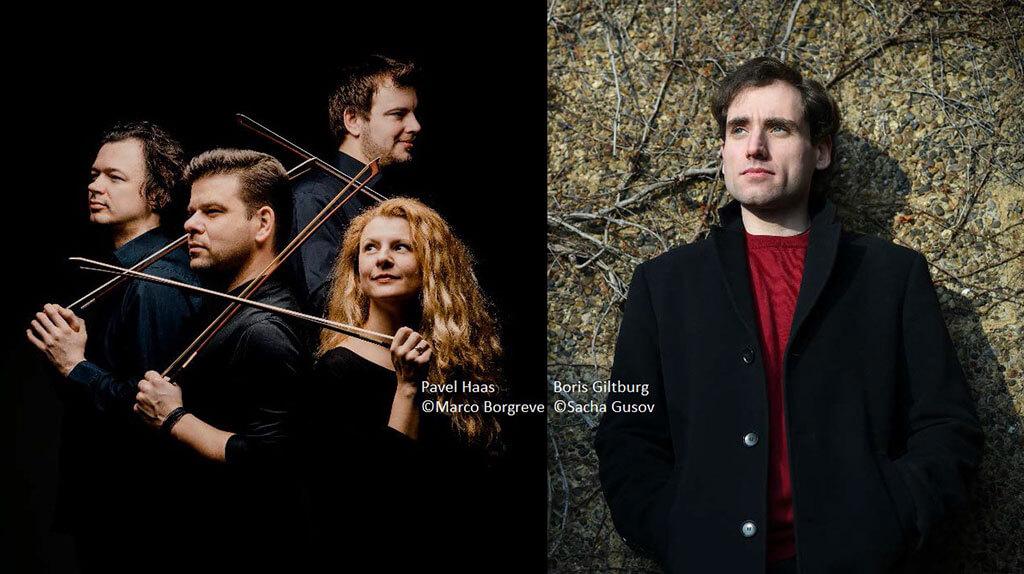 Pavel Haas Quartet et Boris Giltburg
