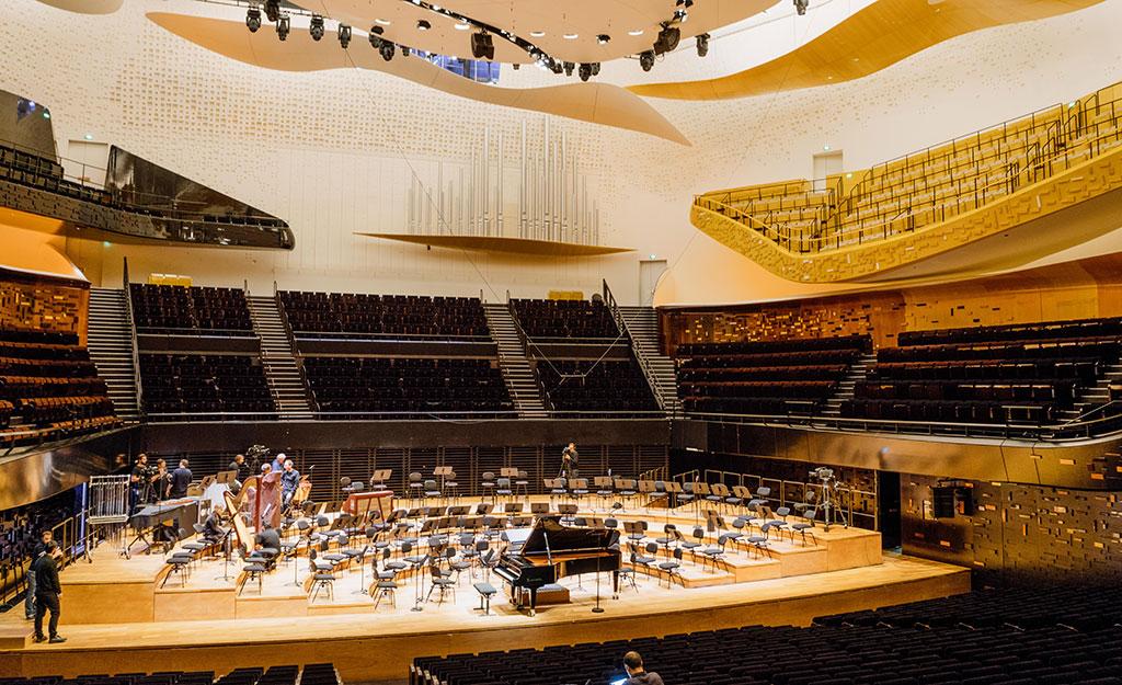 La Phiharmonie de Paris. (Crédit photo: François Goupil)
