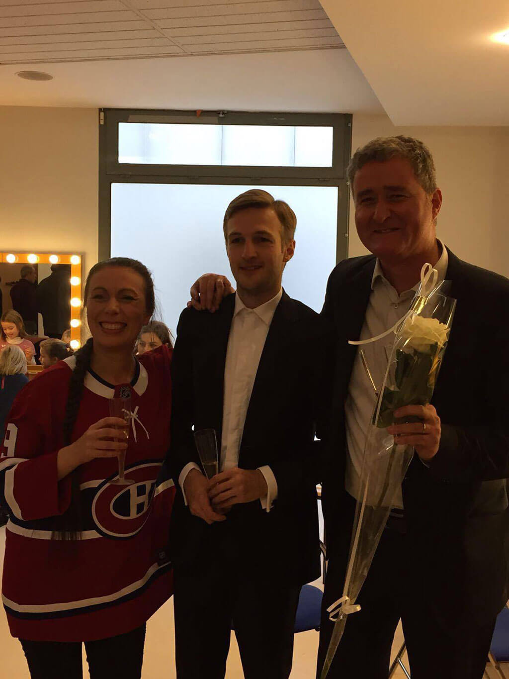 Claude Nadeau, Andrei Feher, Simon Bertrand (Photo: courtoisie)