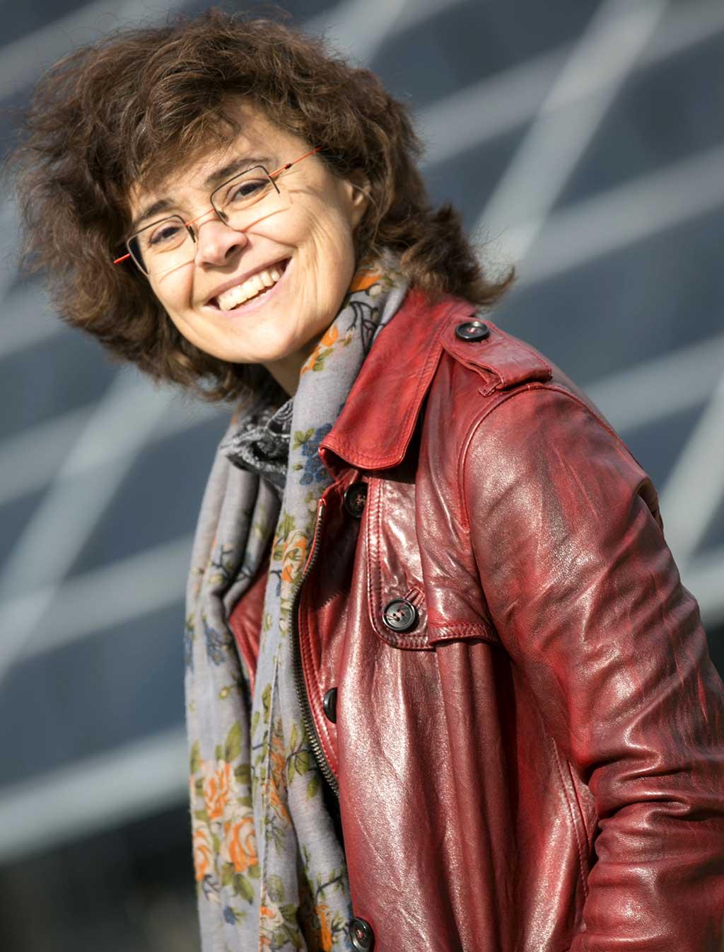 Pionnières de la musique québécoise: Véronique Lacroix, directrice artistique d'ECM+. (Photo : Pierre-Étienne Bergeron)