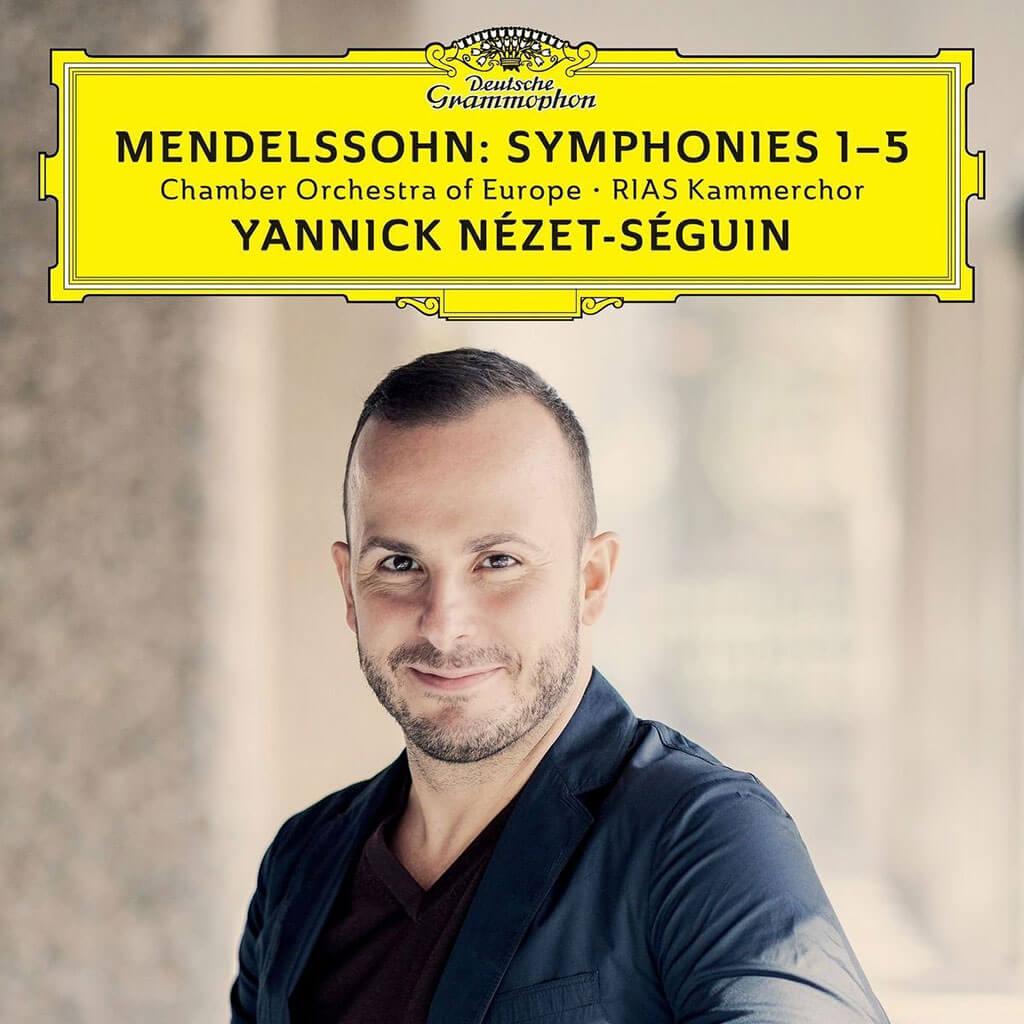Albums essentiels de 2017: Mendelssohn, Symphonies 1 à 5, Chamber Orchestra of Europe, DG.