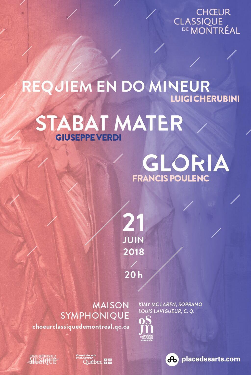 Choeur Classique Affiche Concert Juin 2018