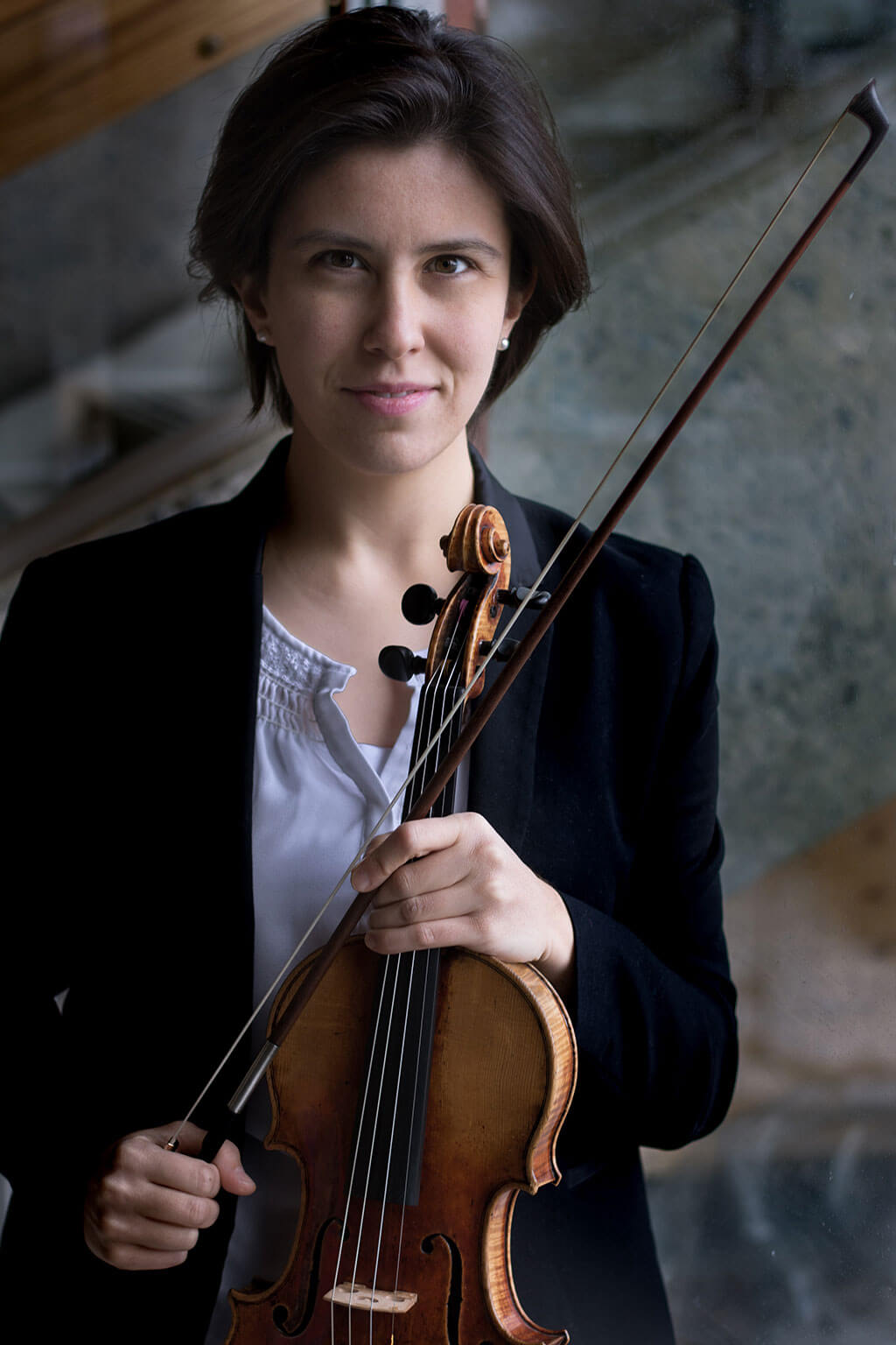 La violoniste Marie Bégin. (Photo: courtoisie)