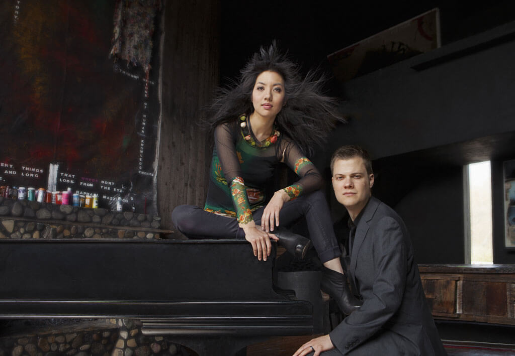 Le duo Anderson & Roe (Crédit: Lisa-Marie Mazzucco)