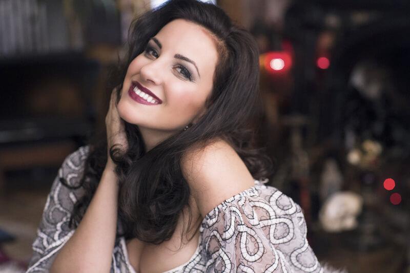 La soprano canadienne Joyce El-Khoury (Crédit: Fay Fox)