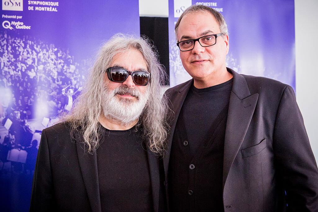 Michel Pagliaro et Simon Leclerc. (Crédit: Antoine Saito)