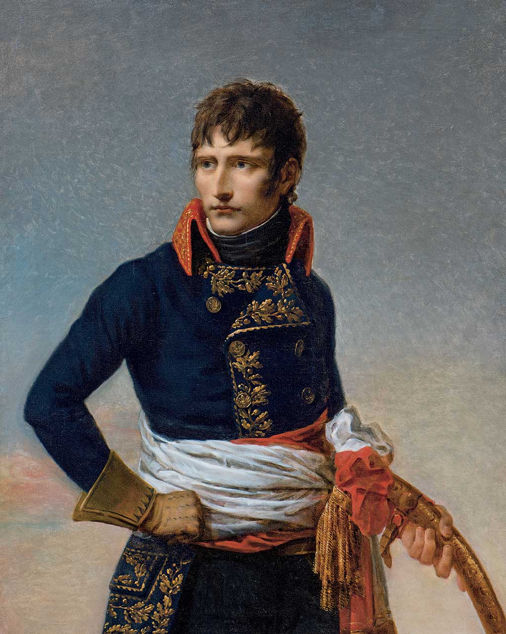 Napoléon Bonaparte. (Photo: un tableau de l'exposition du MBAM)