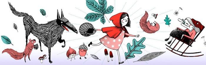 Petit Chaperon rouge - Bal des enfants