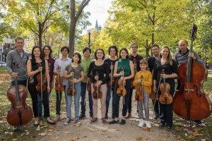 Les Petits Violons, Marie-Claire Cousineau, violon, violoncelle, contrebasse
