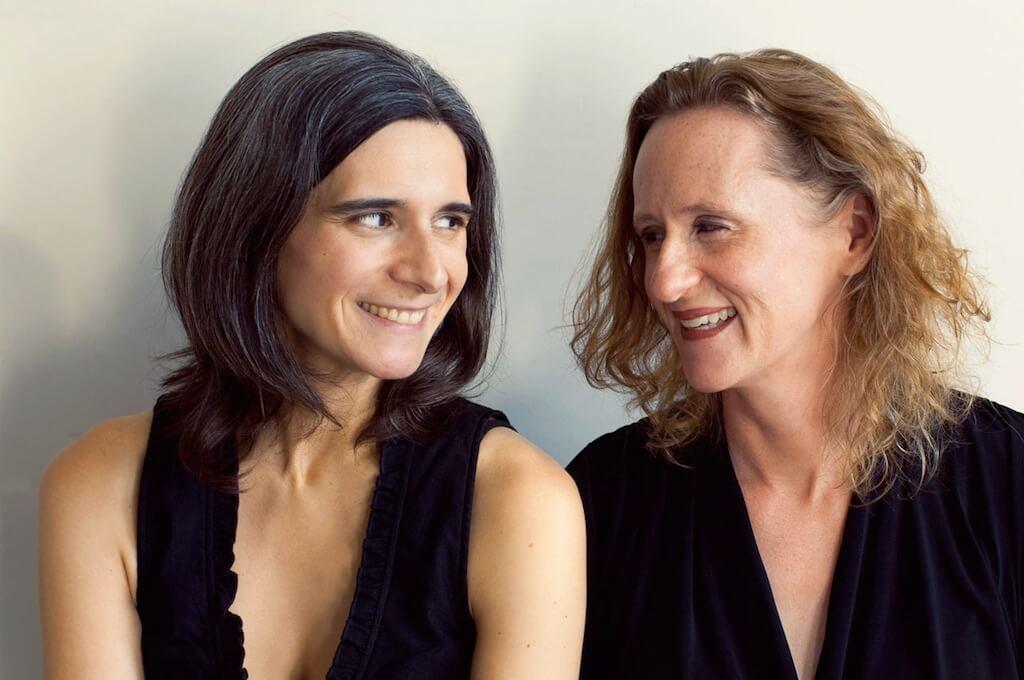 Le Duo Breault-Reimer: Marie-Hélène Breault et Pamela Reimer. (Crédit: Danielle Giguère)