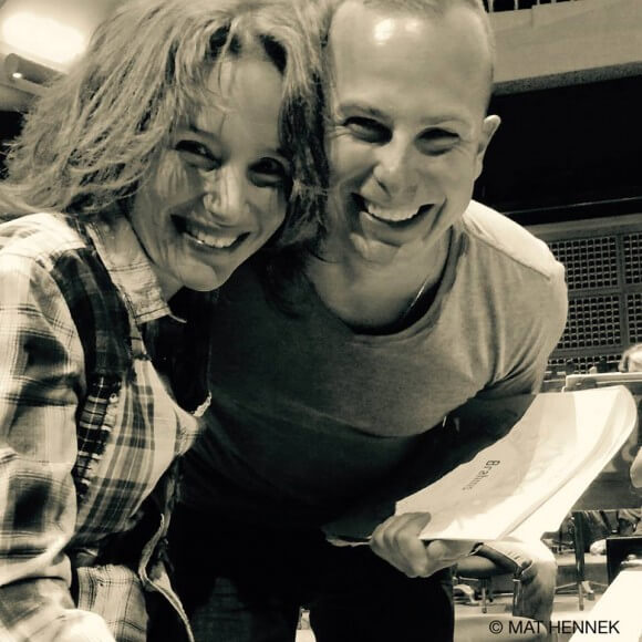 Hélène Grimaud et Yannick Nézet-Séguin sont bons amis. (Crédit: Mat Hennek)
