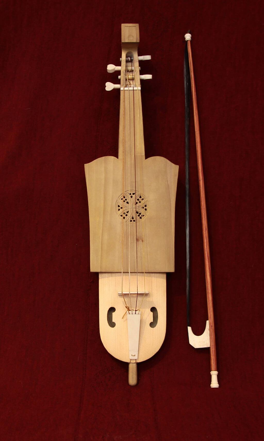 La reproduction de la violetta de Caterina de Vigri. (Photo: courtoisie des Idées heureuses)