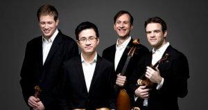 Le Nouveau Quatuor Orford: Jonathan Crow, Andrew Wan, Brian Manker et Eric Nowlin. (Crédit: Alain Lefort)