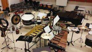 L'ensemble de percussions