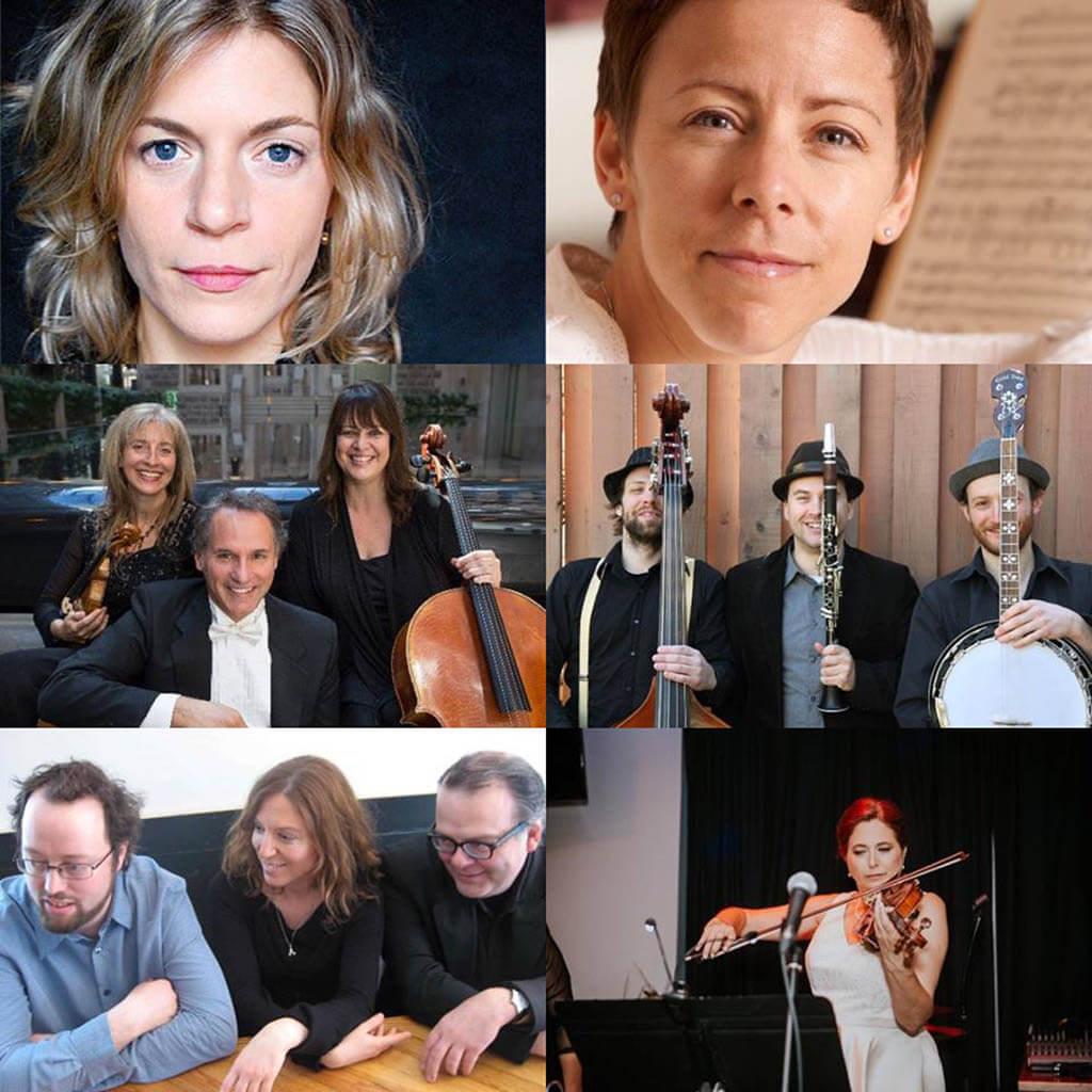 Les musiciens du concert bénéfice de la SAMS (Photo courtoisie)