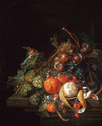 Nature morte, Cornelis de Heem, vers 1665, Collection de Musée des beaux-arts de Montréal.