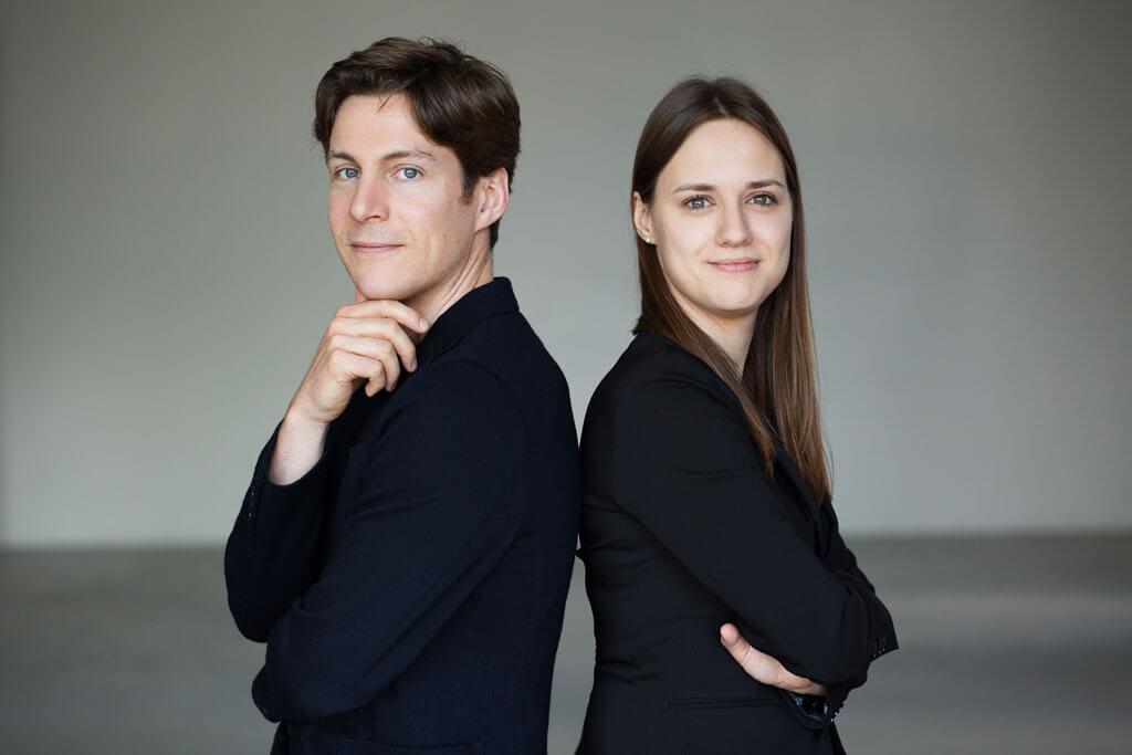 Maxime Goulet et Dina Gilbert. (Crédit: Nadia Zheng)