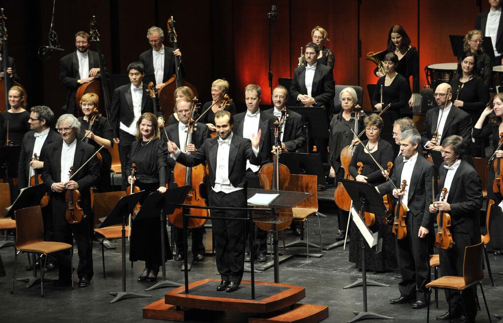 Fabien Gabel avec l' OSQ (Orchestre symphonique de Québec)