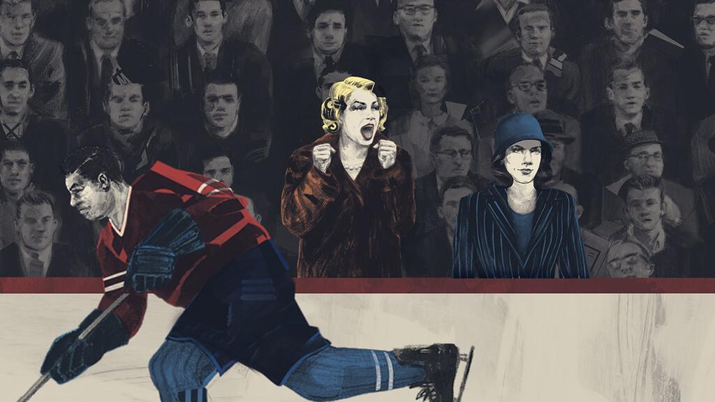 Hockey Noir sera présenté les 3 et 4 avril au Monument-National. (Image: Marie-Josée Chartier)