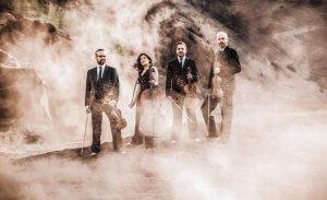Le Quatuor Quiroga. (Photo: courtoisie d'Orford Musique)