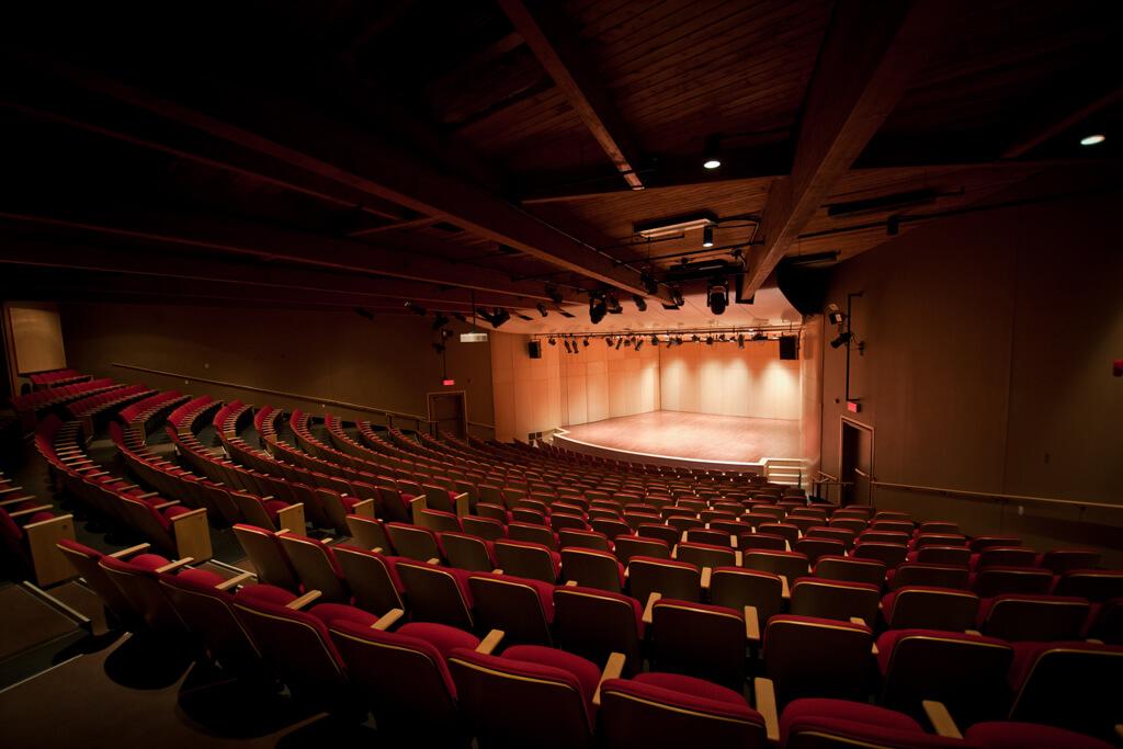 Salle de concert d'Orford Musique (Photo : courtoisie)
