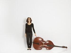 La contrebassiste Blanche Baillargeon (Photo : courtoisie)