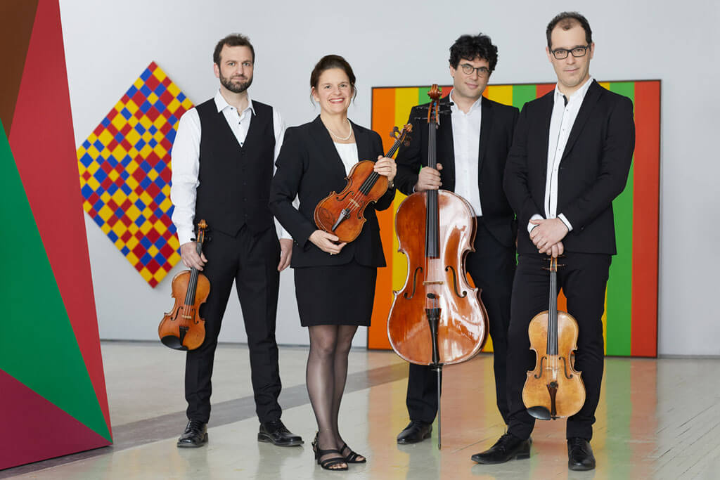 Le violoniste Antoine Bareil s'est joint depuis peu au Quatuor Molinari. (Photo: courtoisie)