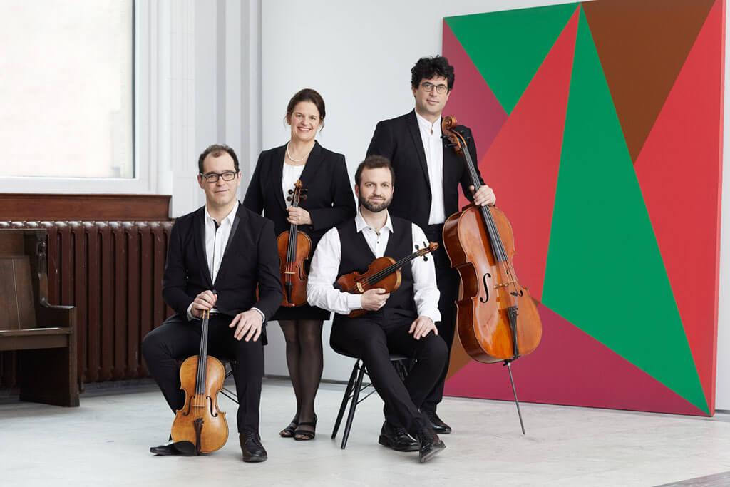 Le Quatuor Molinari. (Photo: courtoisie)