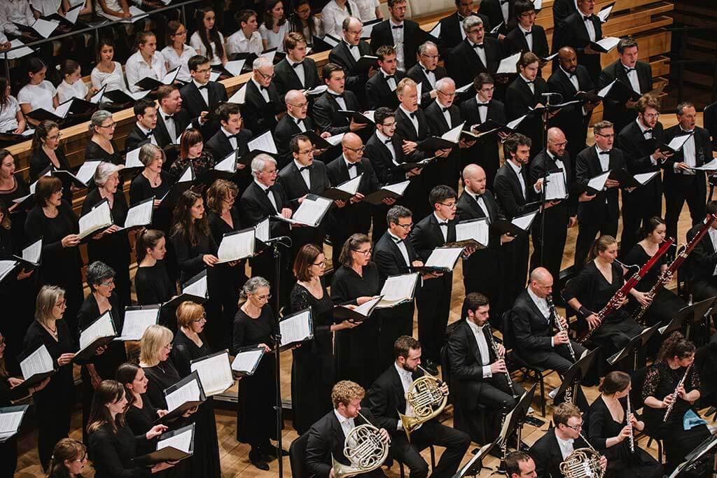 Trois ensembles réputés ont décidé de collaborer pour présenter ce concert grandiose qui sera à la hauteur du répertoire choisi. (Photo: courtoisie du Chœur St-Laurent)