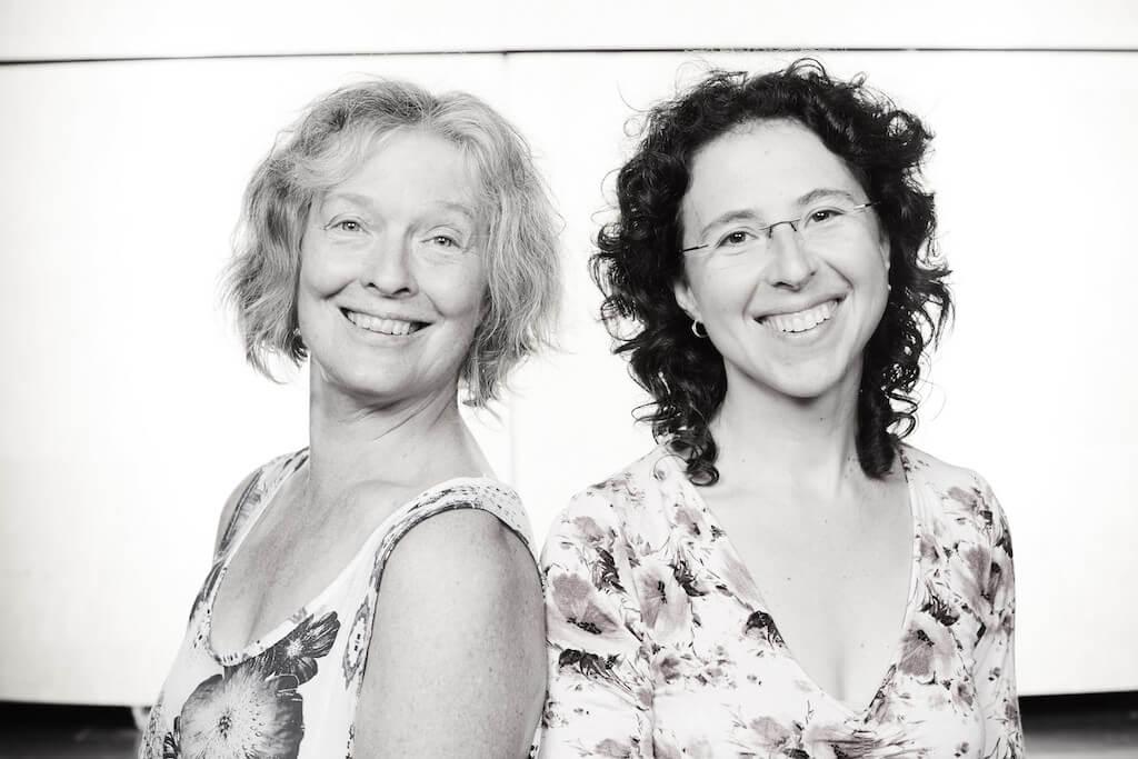 Karen Young et Marianne Trudel