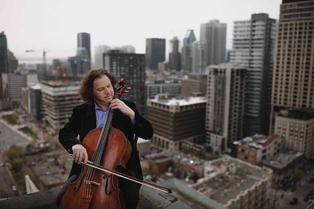 Matt Haimovitz sera en concert avec I Musici de Montréal le 24 mai. (Crédit: Brent Callis)
