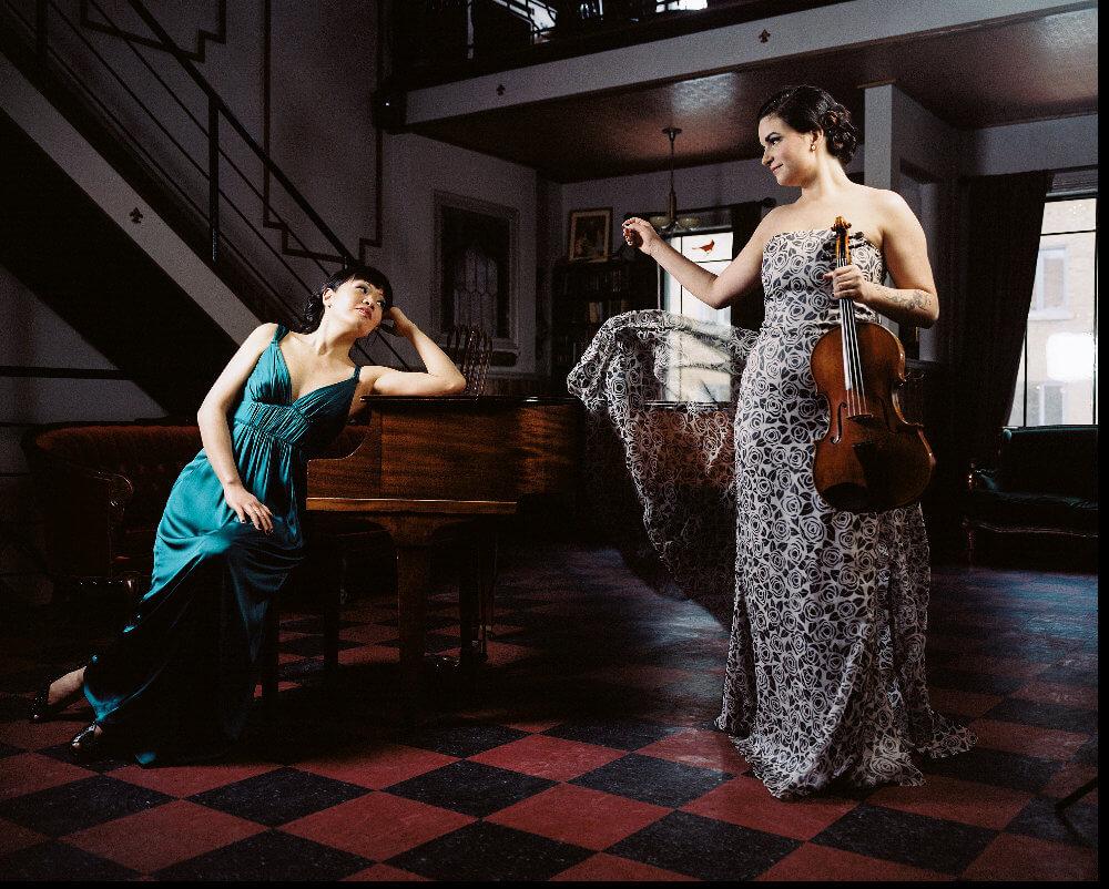 Janelle Fung et Marina Thibeault