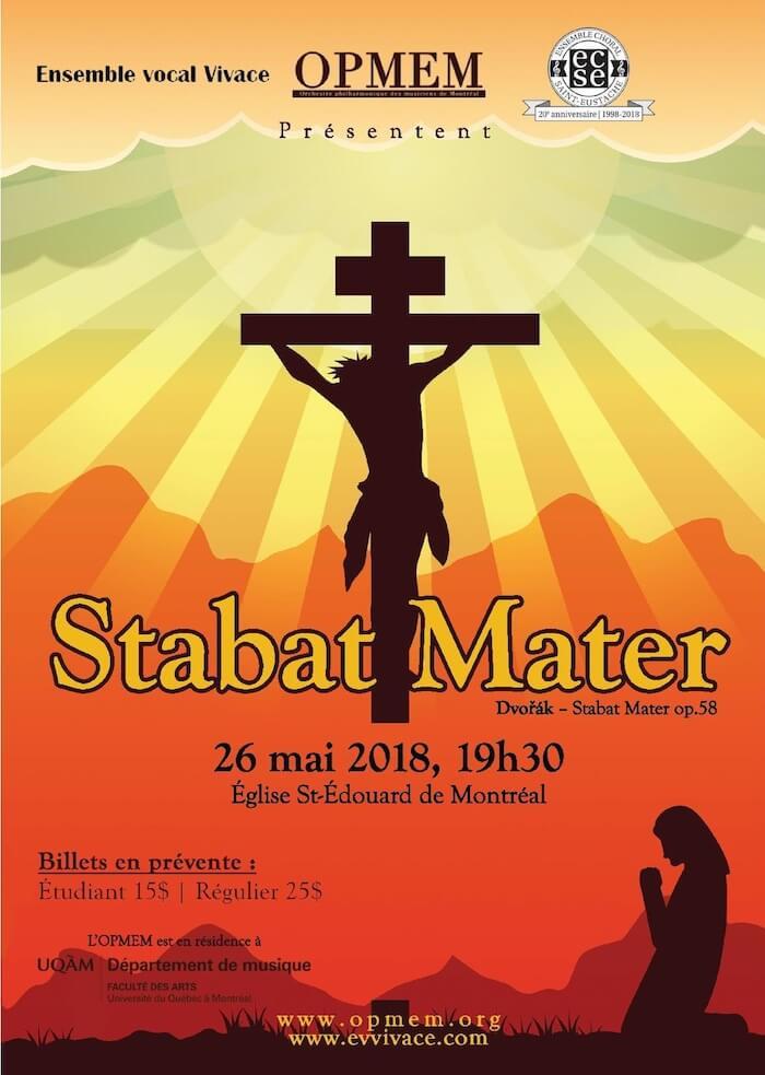 L'OPMEM présente : Stabat Mater de Dvořák affiche