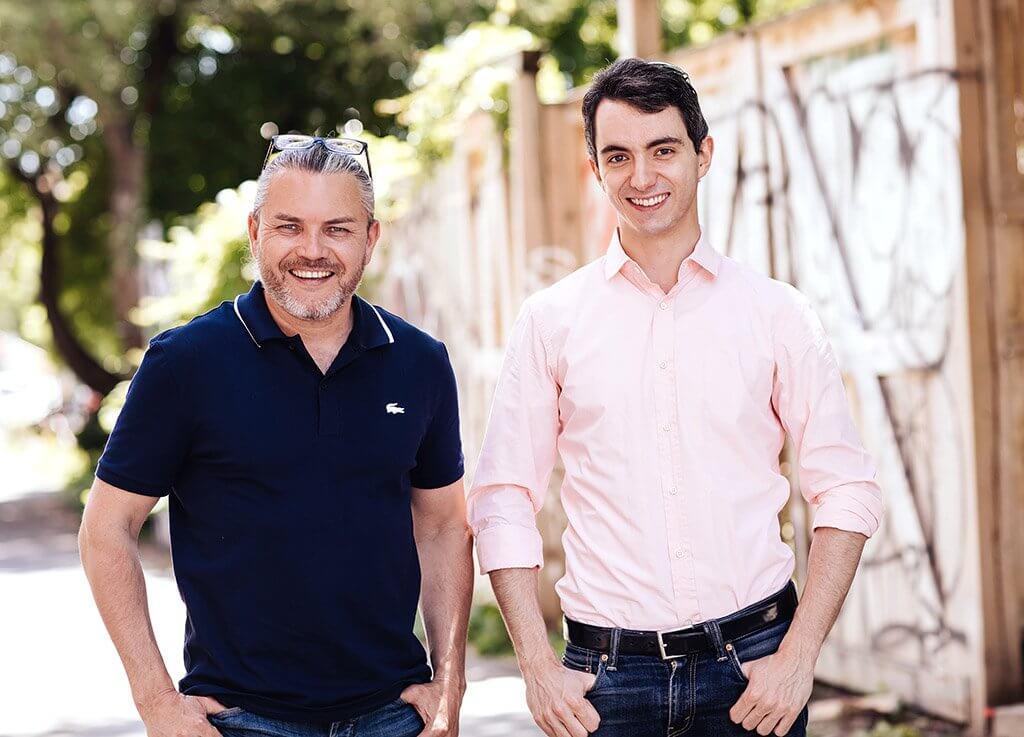 Airat Ichmouratov et Stéphane Tétreault. (Crédit: Nadia Zheng)