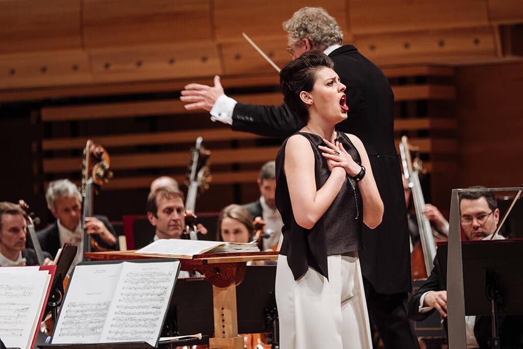 En plus du 2e prix dans la catégorie aria, la mezzo-soprano canadienne Emily D'Angelo a remporté le Prix du public Radio-Canada. (Crédit: Tam Lan Truong)