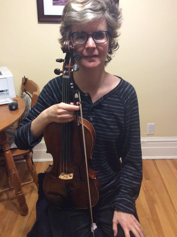 Nathalie Leduc, musicothérapeute à Sainte-Justine. (Photo: courtoisie)