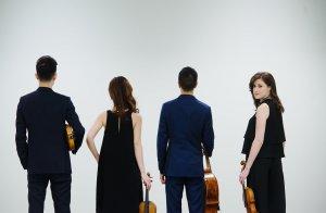 Le Rolston String Quartet. (Crédit: Huang Photography)