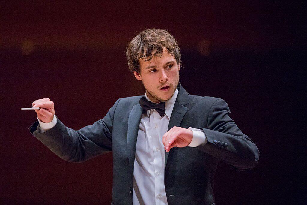 Nicolas Ellis au Concert gala du Concours de musique du Canada (Crédit : Antoine Saito)