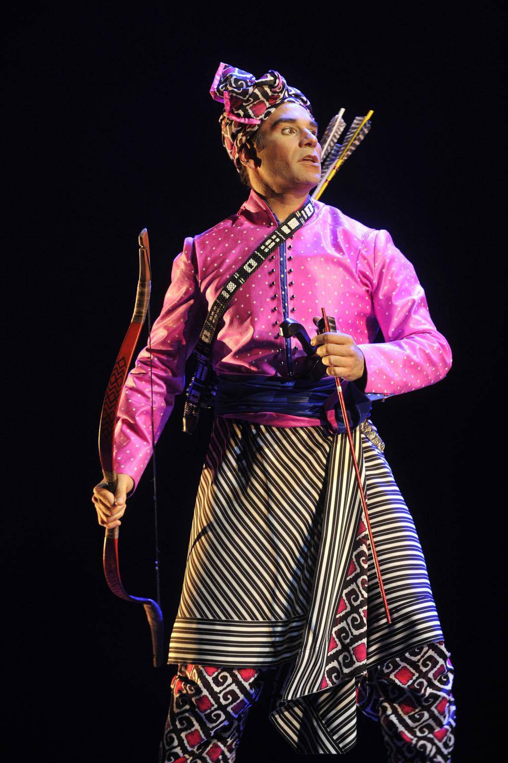 La Flûte enchantée, au Festival d'opéra de Québec. (Crédit: Louise Leblanc)
