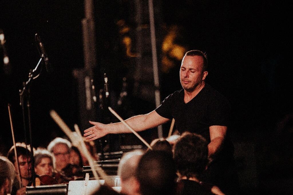 L'Orchestre Métropolitain conviait le public montréalais à un concert entièrement dédié à la musique de Tchaïkovski dans le cadre des Soirées Campbell, le 27 juillet 2018. (Crédit: Ludovic Rolland-Marcotte)