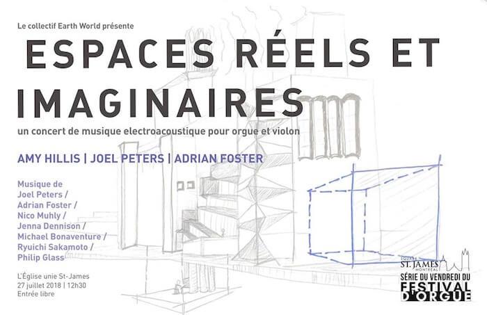 Espaces réels et imaginaires