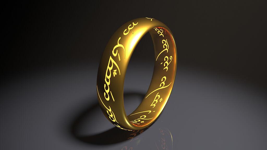 Anneau du film Le Seigneur des anneaux (Photo: banque d'images)