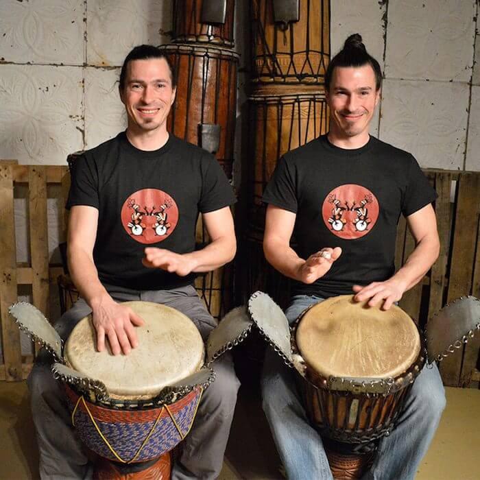 Benjamin et Olivier Landry – 100% Jumeaux Percussions