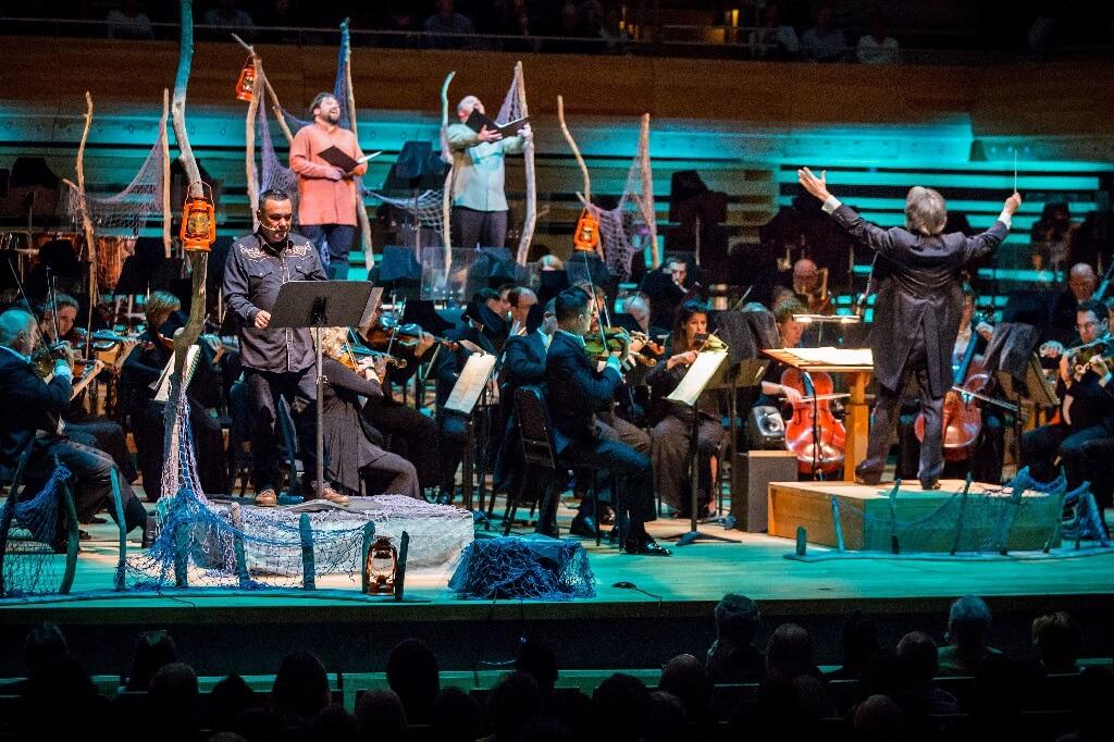 Cet opéra présenté les 6 et 8 septembre à la Maison symphonique fera l'objet d'une tournée dans le Nord du Québec. (Crédit: Antoine Saito)