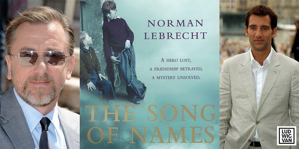 Les acteurs Tim Roth et Clive Owen feront partie de la distribution de The Song of Names.