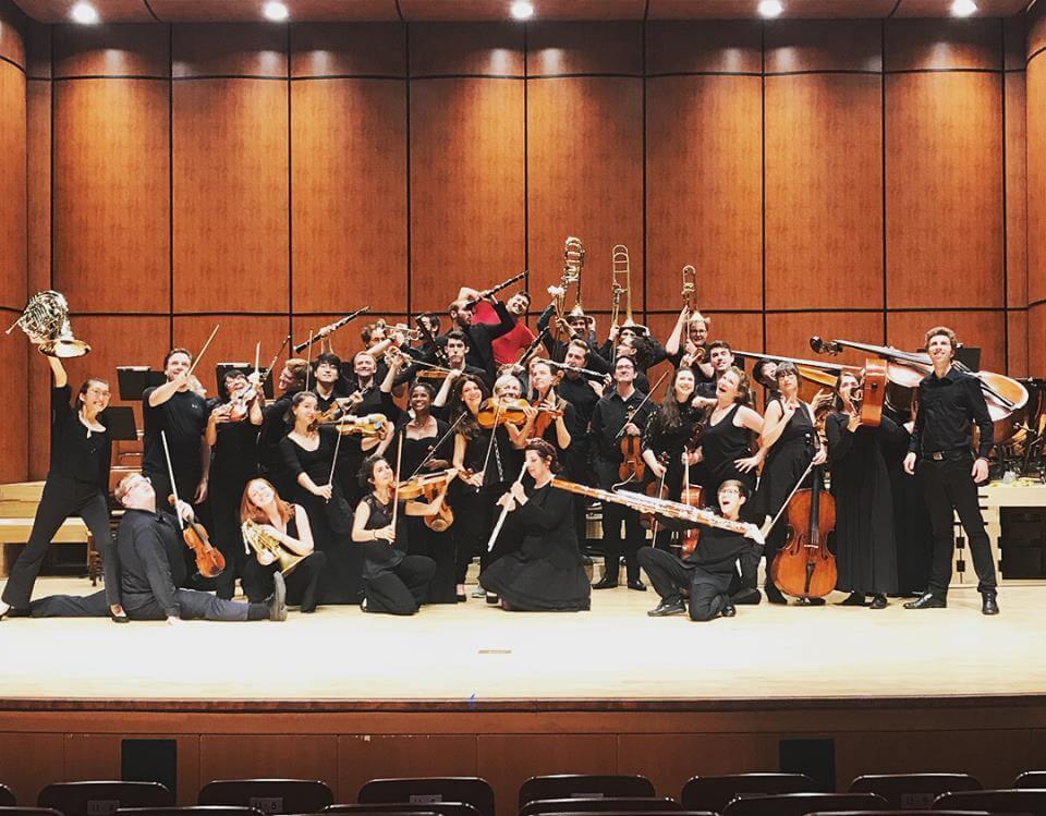 L'Orchestre de la Francophonie après son deuxième concert à Busan, en Corée. (Photo: courtoisie de l'OF)