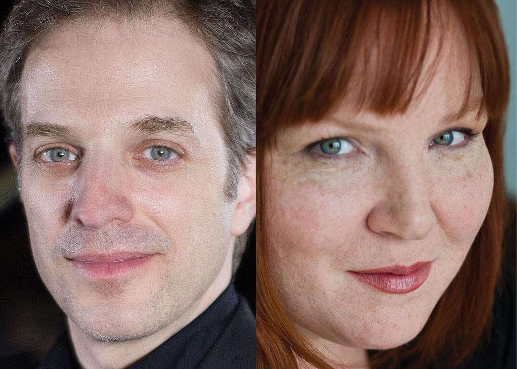 Kathleen Fortin et Stephane Aubin