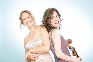 La violoncelliste Elinor Frey et la soprano Suzie LeBlanc