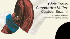 Quatuor Bozzini Cassandra Miller
